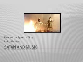 Satan and Music