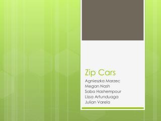 Zip Cars