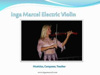 Inga Marcel Electric Violin
