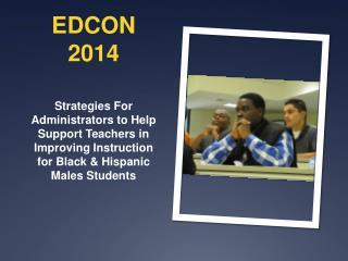 EDCON 2014