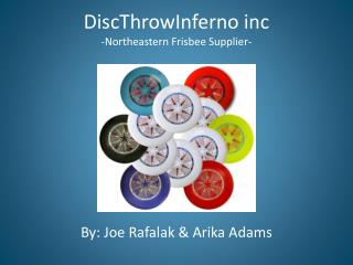 DiscThrowInferno inc -Northeastern Frisbee Supplier-