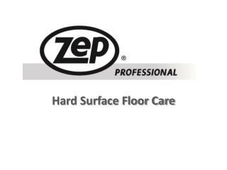 Hard Surface Floor Care