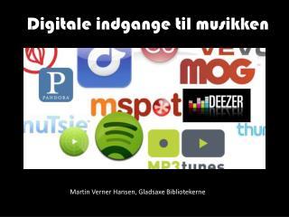 Digitale indgange til musikken