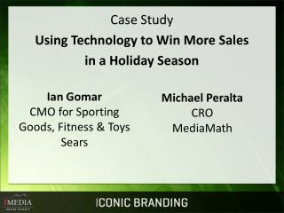 Case Study Using Technology to Win More Sales in a Holiday Season