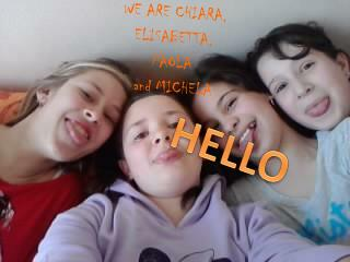 WE ARE CHIARA, ELISABETTA, PAOLA                                                and MICHELA