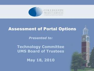 Assessment of Portal Options