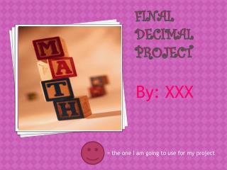final decimal project