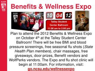 Benefits & Wellness Expo