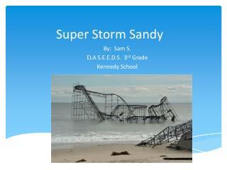 Super Storm Sandy