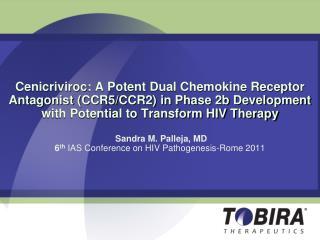 Cenicriviroc (CVC): Key Characteristics