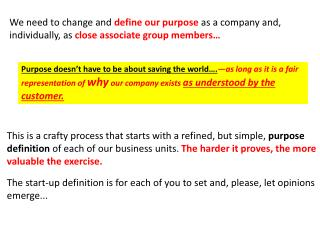 Best definition of Business Unit  Purpose