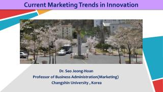 Current Marketing Trends in Innovation