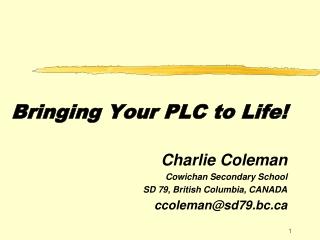School Life after PLC Institutes