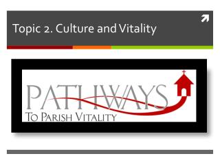 Topic 2. Culture and Vitality