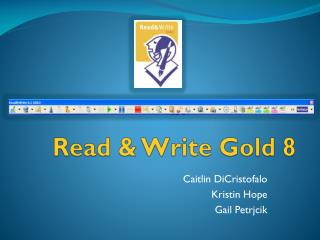 Read & Write Gold 8