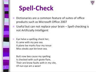 Spell-Check