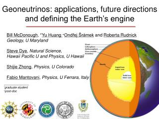 Geoneutrinos: applications, future directions and defining the Earth's engine