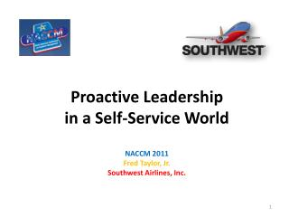 Proactive Leadership  in a Self-Service World