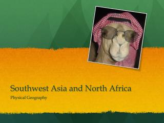 Southwest Asia and North Africa