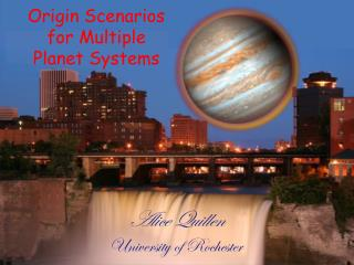 Origin Scenarios for Multiple Planet Systems