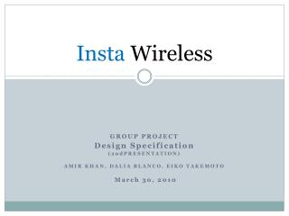 Insta  Wireless