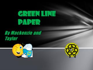 Green Line Paper