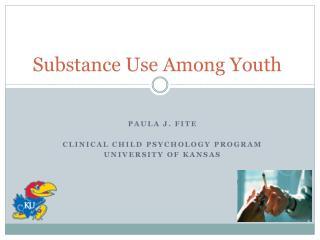 Substance Use Among Youth