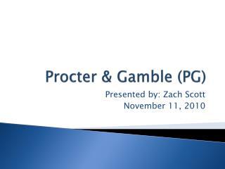 Procter & Gamble (PG)