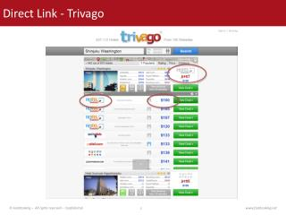 Direct Link -  Trivago
