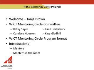 WICT Mentoring Circle Program
