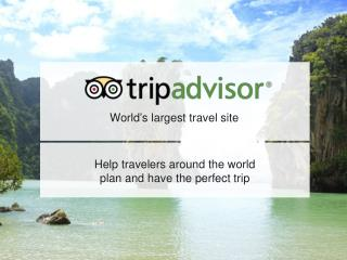 World's largest travel site