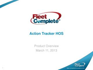 Action Tracker HOS