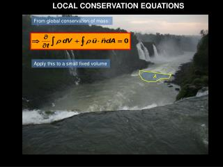LOCAL CONSERVATION EQUATIONS