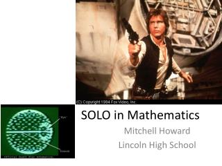 SOLO in Mathematics