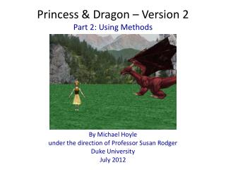 Princess &  Dragon – Version 2