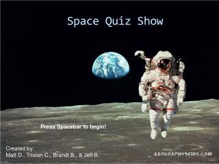 Space Quiz Show