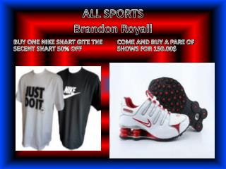 ALL SPORTS Brandon Royall