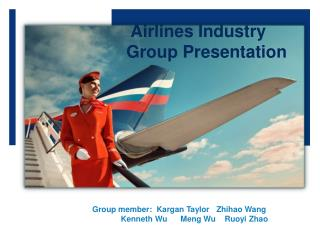 Airlines Industry Group Presentation