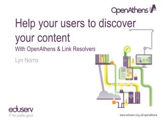 Help your users to discover your content