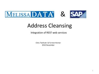Integration of REST web services