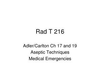 Rad T 216
