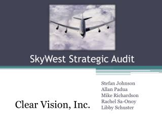 SkyWest Strategic Audit