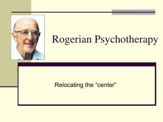 rogerian theory Carl rogers pioneered an approach he called person-centered or nondirective counseling  chap t of c prev page next page rogerian counseling several radically different approaches to therapy can be identified in the profes sion.