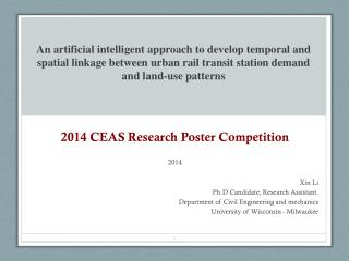 2014 CEAS Research Poster Competition 2014