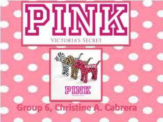 Group 6, Christine A. Cabrera
