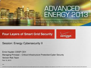 Four Layers of Smart Grid Security