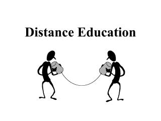 Distance Education Who are distance learners