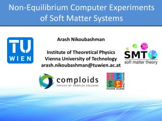 Non-Equilibrium Computer Experiments of Soft Matter Systems