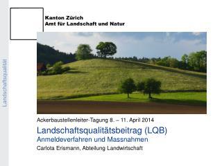 Landschaftsqualit�t