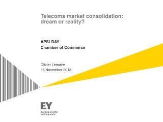 Telecoms market consolidation: dream or reality?